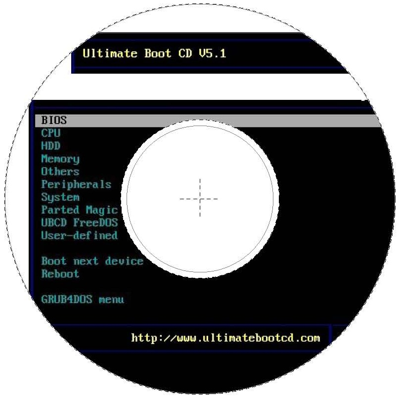 Ultimate Boot Cd  Cdr Labels