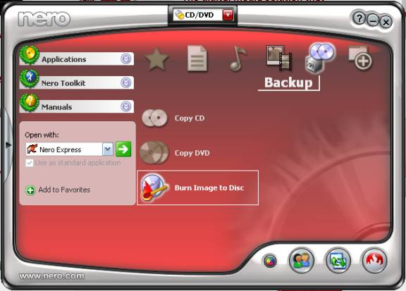 Nero 7 Ultra Edition Enhanced 7.9.6 screenshot